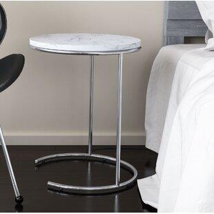 Shryock Wireless Charging End Table by Orren Ellis