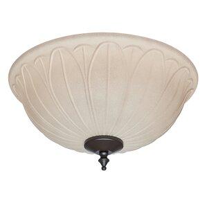 2-Light Bowl Ceiling Fan Light Kit  sc 1 st  Wayfair & Outdoor Ceiling Fan Light Kits Youu0027ll Love | Wayfair azcodes.com