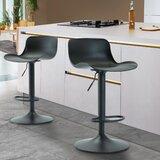 Horsham Swivel Adjustable Height Stool (Set of 2) by Corrigan Studio®