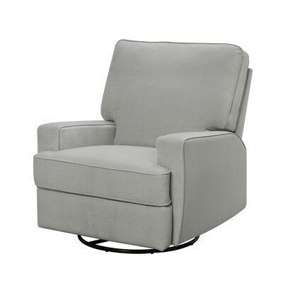 Mack & Milo Aisley Reclining Glider Color: Gray