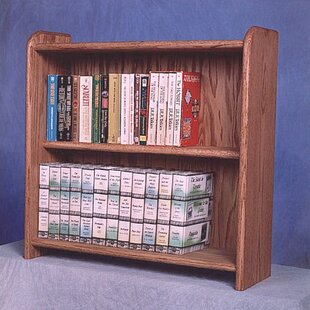 200 Series 80 DVD Multimedia Tabletop Storage Rack