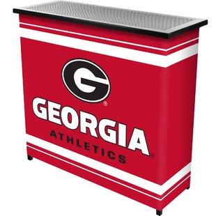 University of Georgia Portable Home Bar By Trademark Global