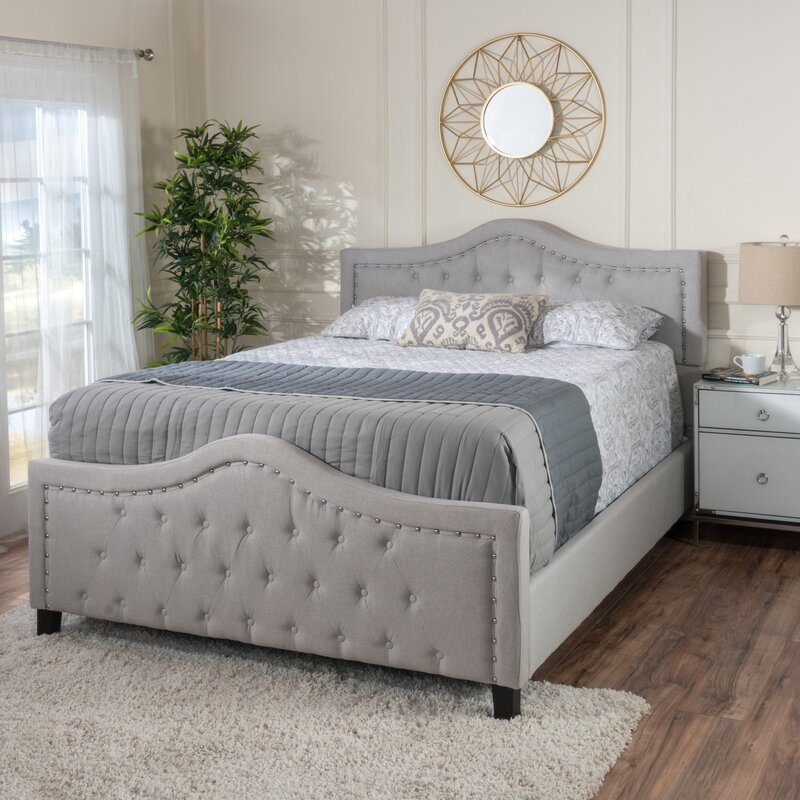 Willa Arlo Interiors Chandler Queen Upholstered Standard Bed & Reviews | Wayfair