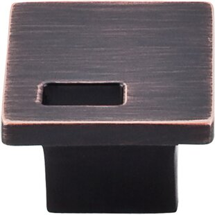 Sanctuary II Modern Metro Slot Square Knob by Top Knobs Best #1
