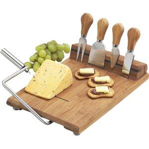Fausta 6 Piece Cheese Tray Set