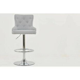 Dominika Swivel Bar Stool By Ebern Designs