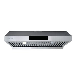 30 860 CFM Ducted Under Cabinet Range Hood by Chef