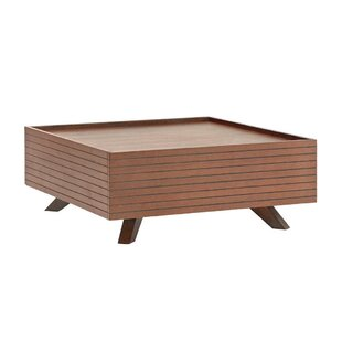 Brooke Coffee Table with Tray Top by Omax Decor