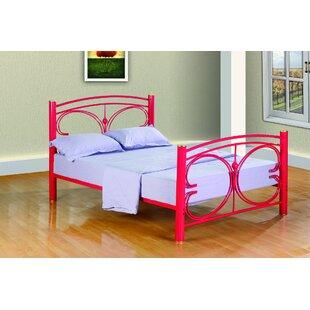 Clint Metal Butterfly Slat Bed ByZoomie Kids