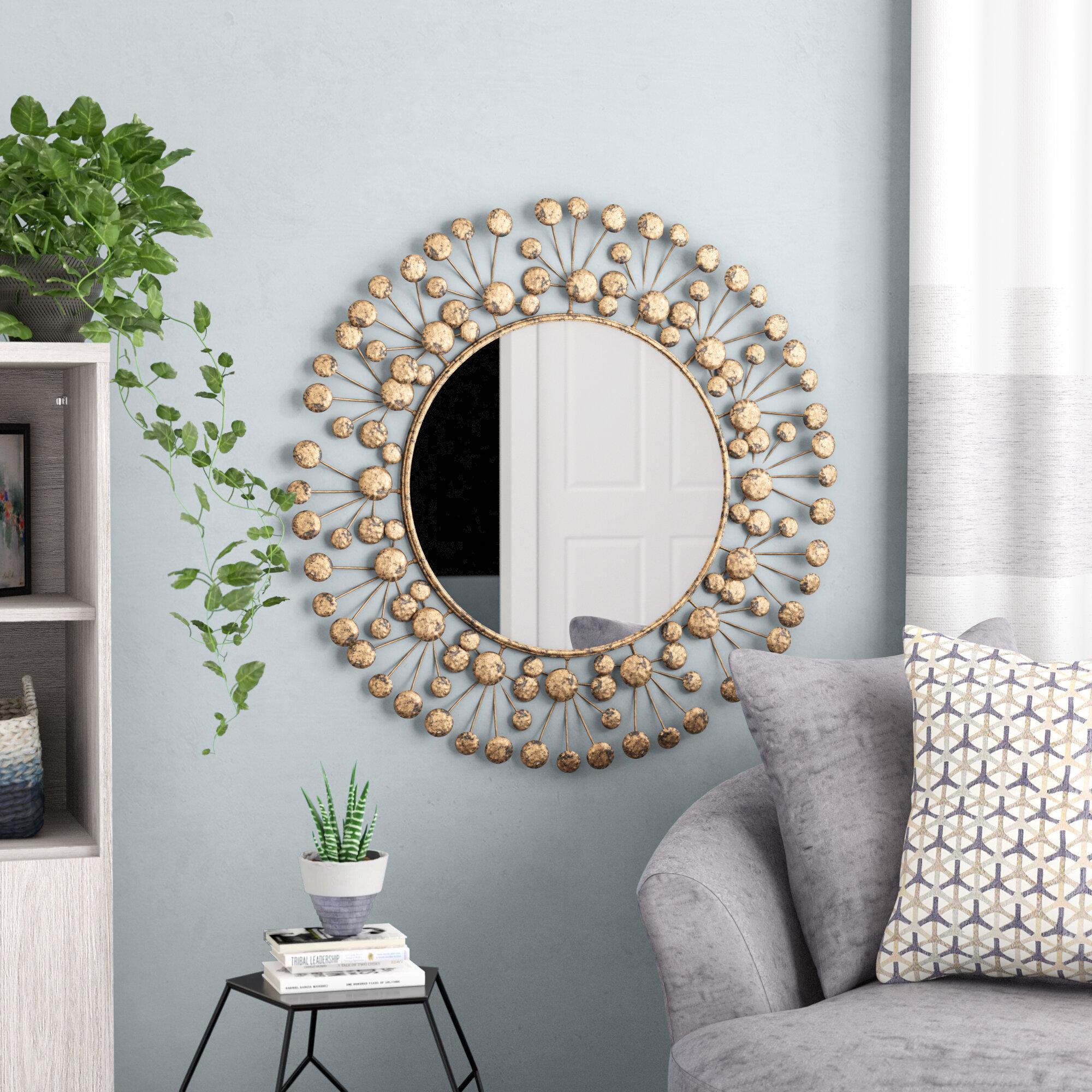 Eisenbarth Oversized Decorative Round Wall Mirror