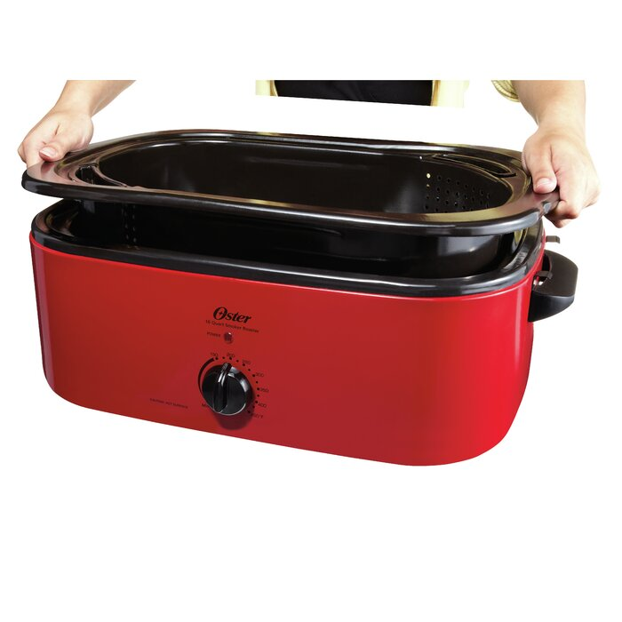 Oster 16-Quart Smoker Roaster Oven