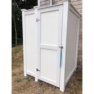 PVC Wall Mount Outdoor Shower By CapeCodShowerKits