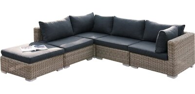 Outstanding Aj Homes Studio Harvey 5 Piece Patio Sectional Set Ii With Uwap Interior Chair Design Uwaporg