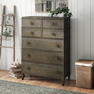 Compare prices Renita 7 Drawer Chest by Canora Grey