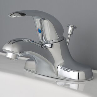 Laguna Brass Centerset Bathroom Faucet with Drain Assembly