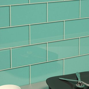 3 X 6 Gl Subway Tile In Teal
