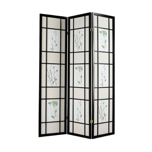 Callum 3 Panel Room Divider by Rosalind Wheeler