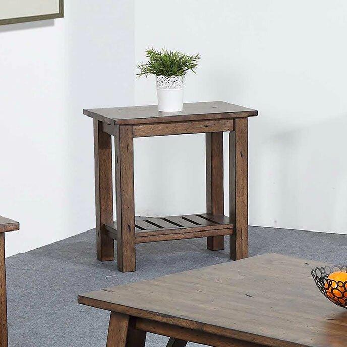 Rosecliff Heights Rutledge Pedestal End Table Reviews Wayfair