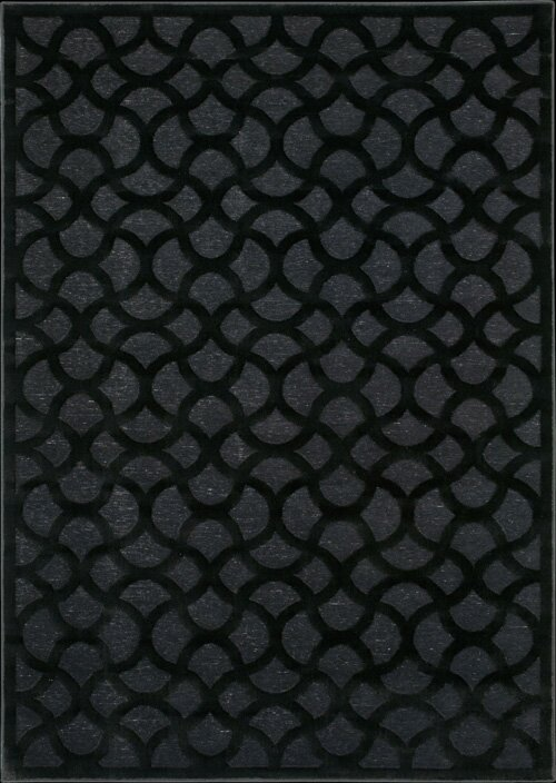 Willa Arlo Interiors Blondelle Abstract Black Area Rug Wayfair
