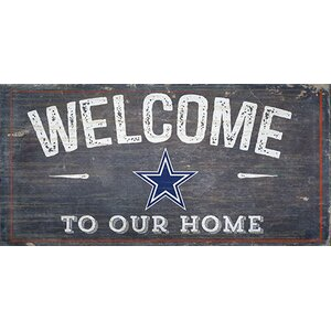 NFL Welcome Wall Du00e9cor