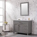 Cosentino 42 Single Bathroom Vanity Set by Breakwater Bay