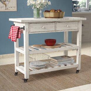 Bryn Kitchen Cart by August Grove