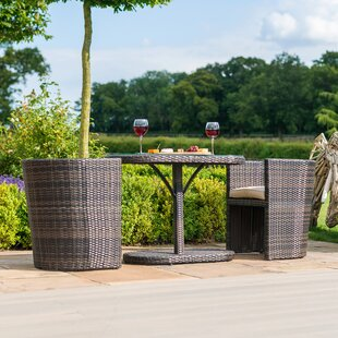 Moyo 2 Seater Bistro Set With Cushions By Sol 72 Outdoor
