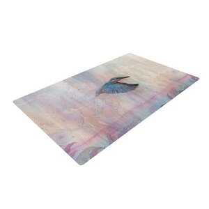 Mat Miller Terror from Above Pink Area Rug
