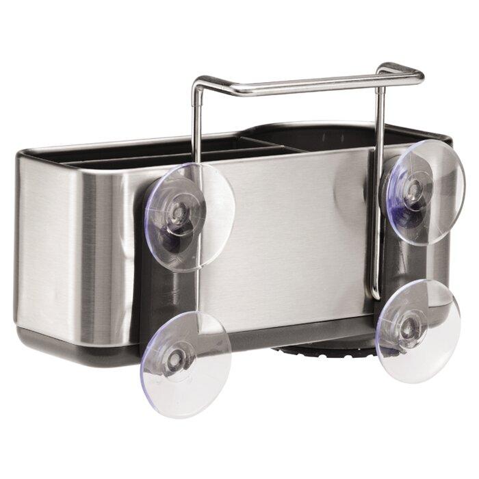 Merveilleux Sink Caddy Organizer, Brushed Stainless Steel