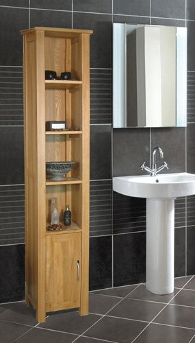 zenit tall cabinet gloss mounted unit newsite bathroom wall white