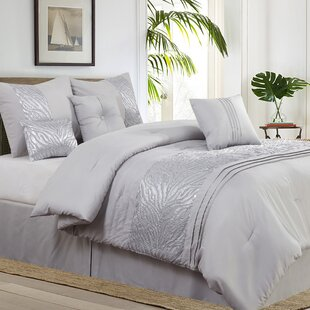 Rizzuto Nature/Floral 7 Piece Comforter Set