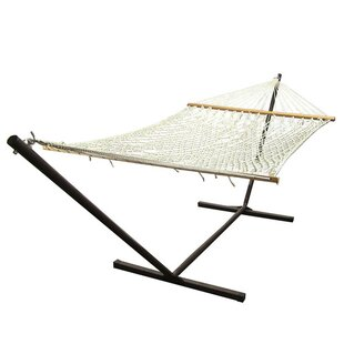 Highland Dunes D'Alotto Polyester Hammock with Stand