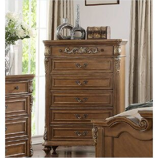 Astoria Grand Vilmos 6 Drawer Chest
