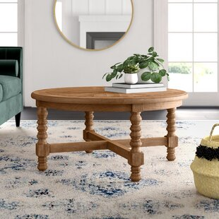 Haylie Wooden Coffee Table by Mistana