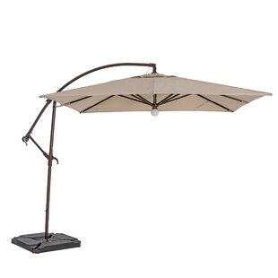 TrueShade™ Plus 10' Square Cantilever Umbrella