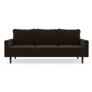 Schiller Satin Weave Sofa by Orren Ellis