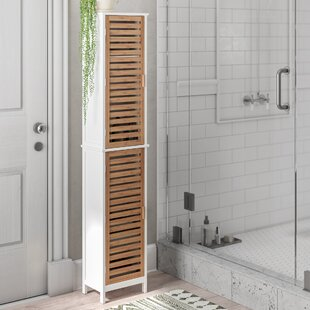 34 X 170cm Free Standing Tall Bathroom Cabinet By Symple Stuff