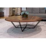 Diamond Coffee Table with Tray Top by Marie Burgos Design