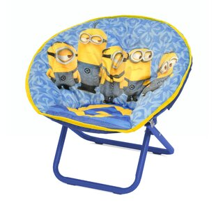 Minions Mini Saucer Kids Chair by Idea Nuova