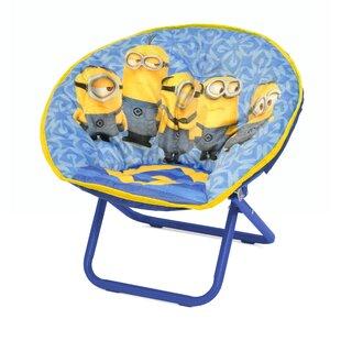 Minions Mini Saucer Kids Chair by Idea Nuova