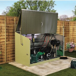 Storeguard 6 Ft. W X 3 Ft. D Overlap Pent Metal Tool Shed By Trimetals