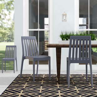 Mcgregor Stacking Patio Dining Chair (Set..