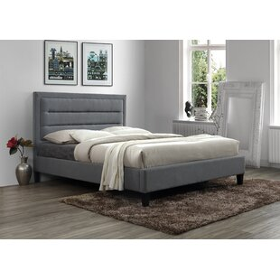 Garway Tufted Upholstered Low Profile Platform Bed