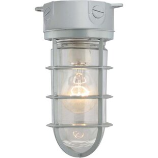 Houser Outdoor Flush Mount by Breakwater Bay