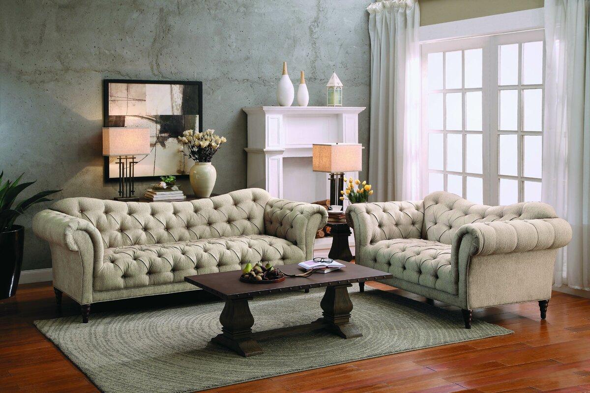 $1129.99 Mcwilliams 2 Piece Living Room Set - dealepic