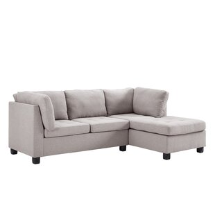 Reviews Steeves Reversible Sectional by Ebern Designs Reviews (2019) & Buyer's Guide