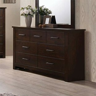 Ida Wooden 7 Drawer Double Dresser