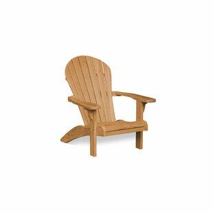 Dewayne Teak Adirondack Chair by Highland Dunes Best Design