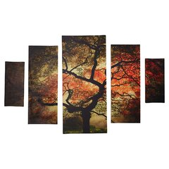 iCanvasART 3-Piece Takanawa Japanese Canvas Print by Kunisada Toyokuni 1.5 by 60 by 40-Inch