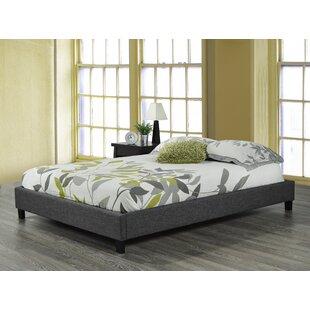 Upholstered Platform Bed by Brassex